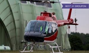 Aveo Flight Academy: 10, 20 oder 30 Min. Helikopter-Rundflug bei Berlin für 1 Person bei Aveo Flight Academy (bis zu 41% sparen*)