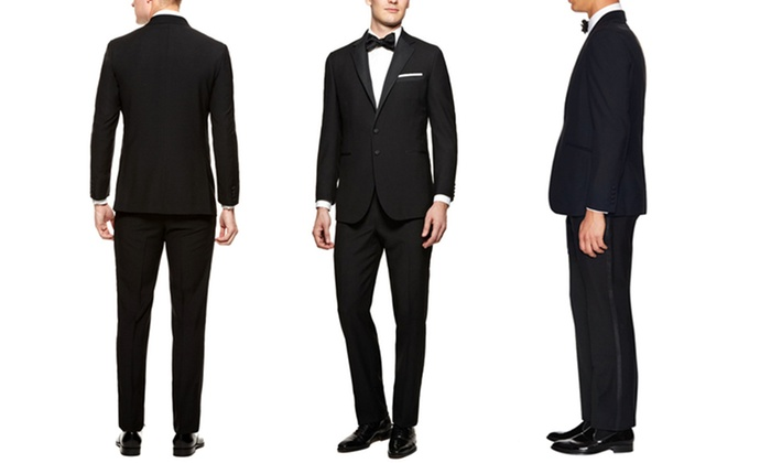 Verno Notch Lapel Tuxedos in Classic or Slim Fit