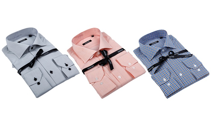 Clearance: Georges Rech Men's Button-Down Dress Shirt