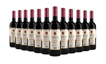 Hasta 24 botellas de vino Conde de Argaiz (envío gratuito)