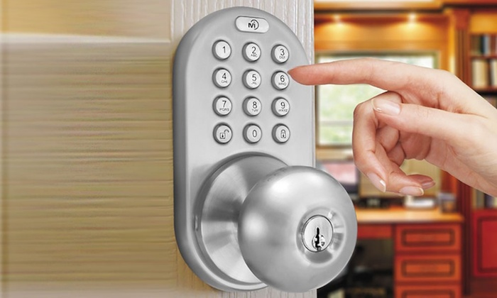 MiLocks Indoor Electronic Touchpad Keyless Entry Door Lock : keyless door - pezcame.com