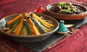 Ristorante Arabo Mogador: Menu sapori mediorientali e vino per 2 o 4 persone da Ristorante Arabo Mogador (sconto fino a 66%)