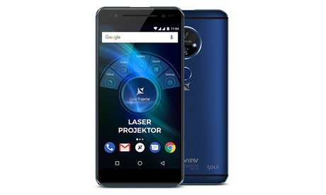 Smartphone Allview X4 Soul Vision con proyector de láser