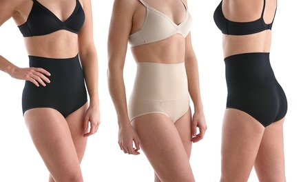 Sociology Women's High-Waisted Control Briefs (2-Pack)   Groupon Exclusive