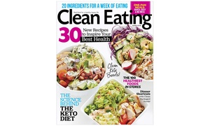 Up to 80% Off Clean Eating Magazine Subscription  at Clean Eating, plus 6.0% Cash Back from Ebates.