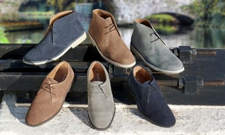 Mens Suede Desert Shoes