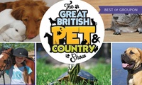 Great British Pet Show: Entry for Two or Four on 28-29 May at Hylands House(Up to 55% Off)