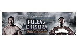 Sauerland Event: 1 Karte für das Box-Event mit dem Hauptkampf Pulev vs. Chisora am 7. Mai in der Barclaycard Arena Hamburg ab 20 Euro