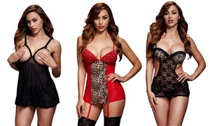 Baci Sexy Lingerie Bodysuits and Chemises