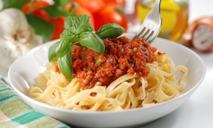 Italian Food and Drink for Two or More at Vino e Pasta (Up to 58% Off). Two Options Available.