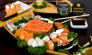 Sashiburi Sushi House: Sashiburi Sushi House – Plaza São Rafael, Moinhos e Zona Sul: festival de sushi