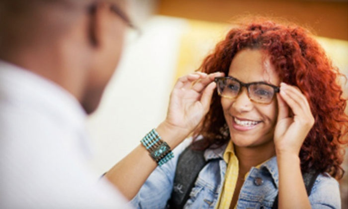 Mercy Eye Care - Multiple Locations: $49 for an Eye Exam and $200 Toward Glasses at Mercy Eye Care ($285 Value)