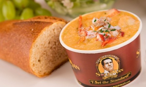 SoupMan Deli in Resorts Casino Hotel: Soup and Sandwiches for Two or Four at SoupMan Deli in Resorts Casino Hotel (Up to 38% Off)