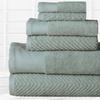 100% Egyptian Cotton Towel Set (6-Piece)