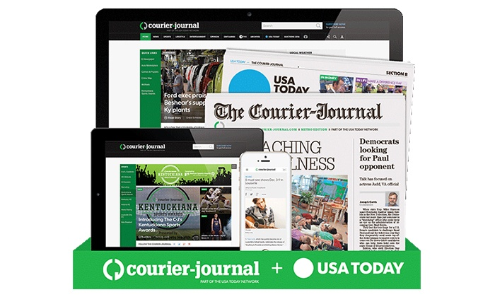 f9a88d7ea81c Up to 92% Off Newspaper Subscription at The Courier-Journal