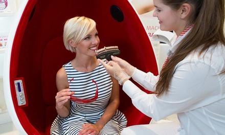 Blanqueamiento dental led para 1 persona con opción a kit de blanqueamiento a domicilio por 34 € en PearlSmile