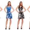 Women's Printed Skater Dresses