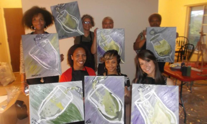 Painting Vibe - Detroit: $120 for $240 Groupon — Painting Vibe
