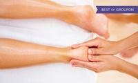 60 Min. Fußreflexzonen-Wohlfühlmassage inkl. Fußbad und 1 Tasse Tee in der Praxis Körperwohl (30% sparen*)