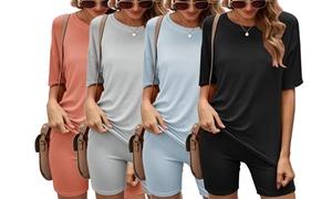 Ensemble short et t-shirt femme