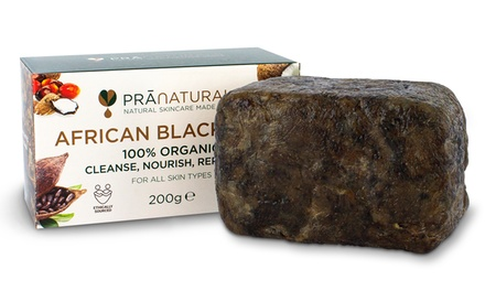 PraNaturals Organic Raw African Black Soap