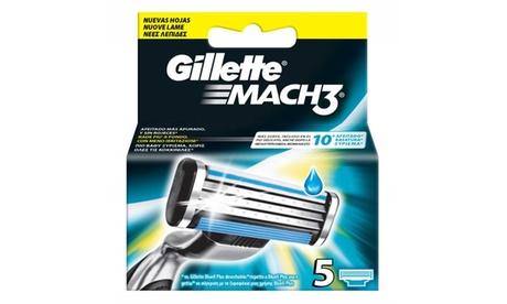 15 o 30 ricariche Gillette Mach3 nuova edizione 2017