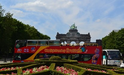 1 ticket enfant ou 2 tickets adulte dès 9,99 € avec City Sightseeing Brussels