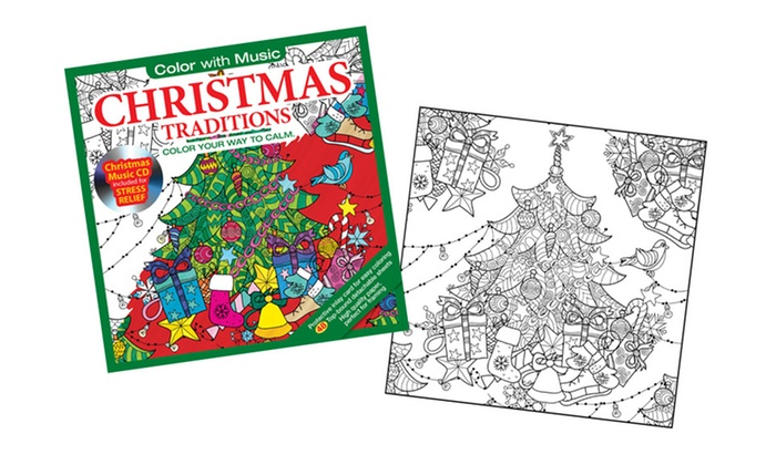 Holiday Themed Coloring Books