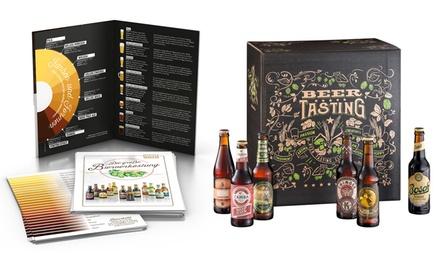 Coffret cadeau avec 24 bières allemandes KALEA®, Verre et livraison offerte