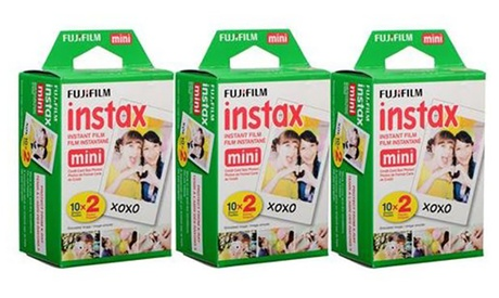 Fujifilm Instax Mini Film Value Pack (3 Twin Packs; 60 Pictures Total)