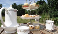 Cotswolds Afternoon Tea for Two or Four at Stanton Manor (Up to 41% Off)