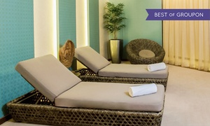 Akaru Spa: Spa Treatment and Pool Access for One or Two at Akaru Spa at Jumeriah Creekside Hotel (Up to 58% Off)