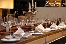 Die Zimberei: 4-Gänge-Gourmet-Menü für 2 oder 4 Personen im Restaurant Die Zimberei