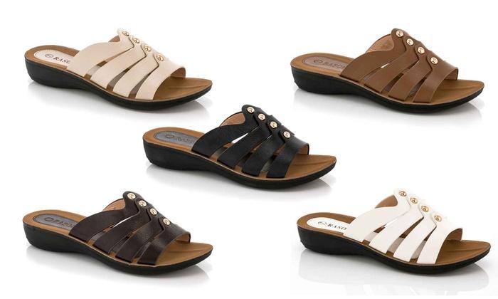 Rassoli Women's Slip-On Comfort Sandals