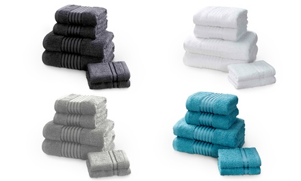 Rapport Home 500gsm 6 or 12Piece Egyptian Cotton Windsor Towel Bale