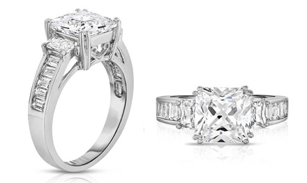jcpenney jewelry wedding rings up to 45 on tri bridal ring groupon goods 5240