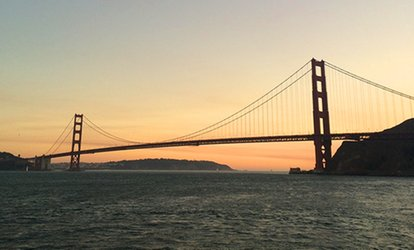 Friday or Saturday Night Sunset Cruise for Two or Four at Angel Island Tiburon Ferry (Up to 46% Off)