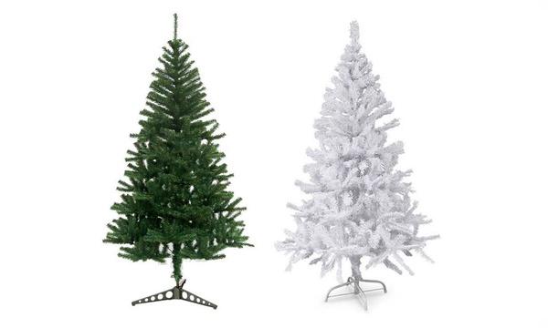 Albero Di Natale Ecologico.Albero Di Natale Ecologico Bianco O Verde Disponibile In 4 Misure