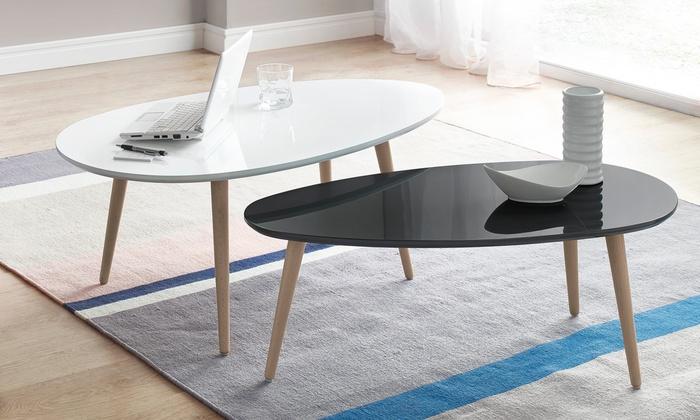 tables gigognes bobochic noires groupon. Black Bedroom Furniture Sets. Home Design Ideas