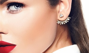 Lily Pave Cuff Earrings