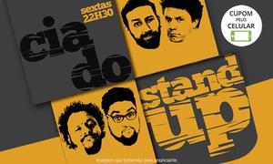 """Cia do Stand Up: """"Cia do Stand-up""""– Teatro Ressurreição: 1 ingresso"""