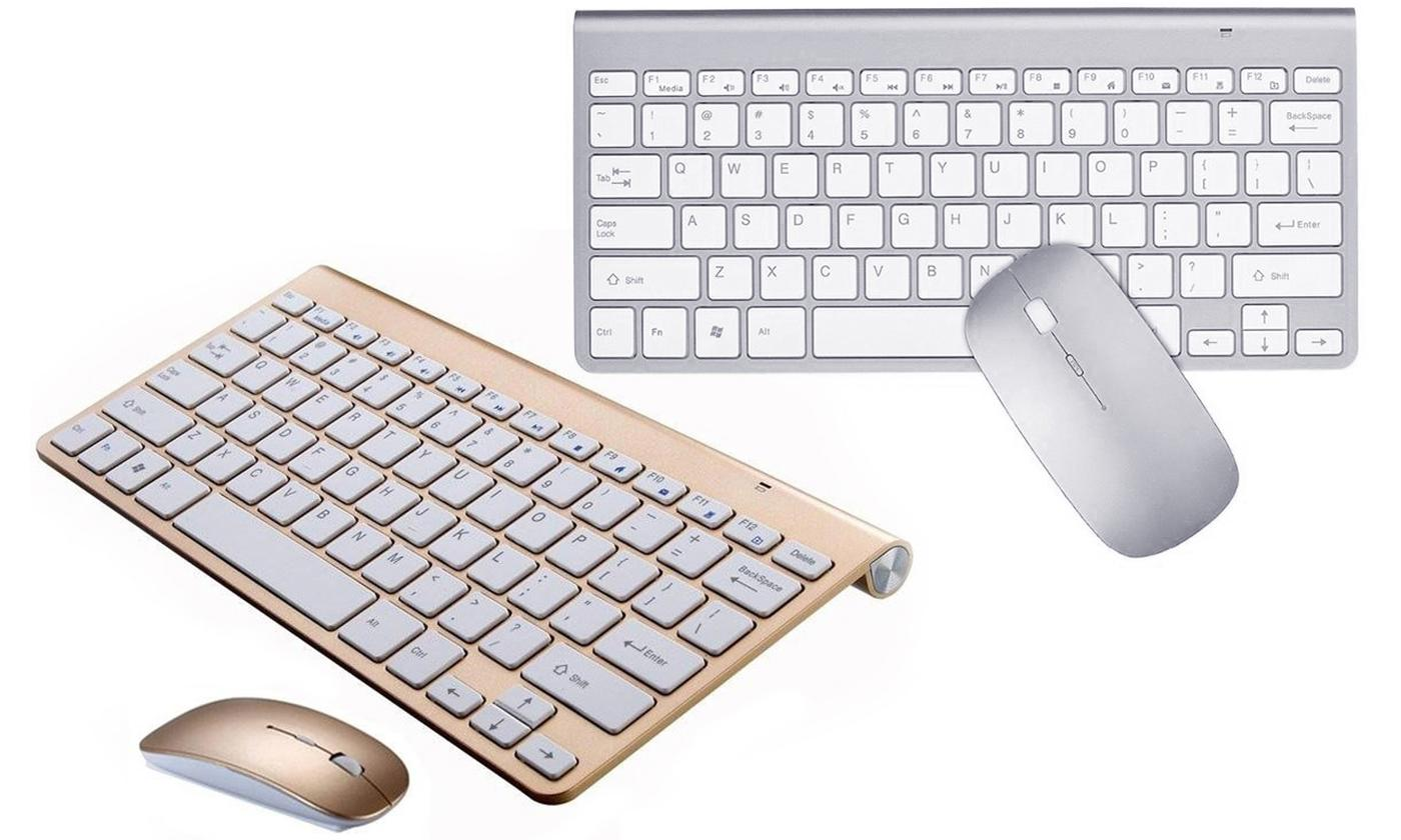 Aquarius Wireless Keyboard Kit with Optical Mouse