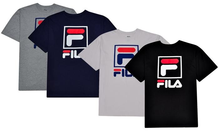 37a96c7590463 Fila Men's Big and Tall Short Sleeve T-Shirt (2XL–6XL, XLT–5XLT ...