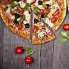 Pizzas XL et boissons à emporter