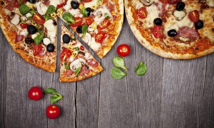 $20 or $40 Towards Italian Food & Drinks for Two or More at A Pizza Heaven