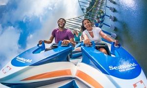 20% Off 5 Day Flex Ticket to SeaWorld/Aquatica San Antonio at SeaWorld San Antonio, plus 6.0% Cash Back from Ebates.