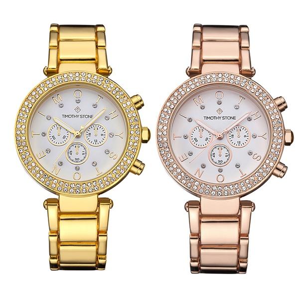 1 o 2 orologi da donna Désire Timothy Stone con cristalli Swarovski® disponibili in 3 modelli, con spedizione gratuita