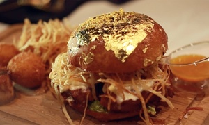24 Karat Restaurant FZ LLC: Choice of One Meal or a Three-Course Dinner with Gold for One or Two at 24 Karat Restaurant (Up to 47% Off)
