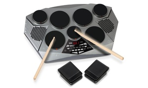 Pyle Tabletop Digital Drumming Kit (5-Piece)
