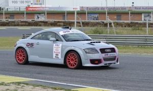 Deyscom Sport: 2 o 5 vueltas de conducción de coche de rallyes o Audi TT 250 cv en el circuito del Jarama desde 49 € con Deyscom Sport